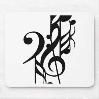 Musical_notes Mouse Pad
