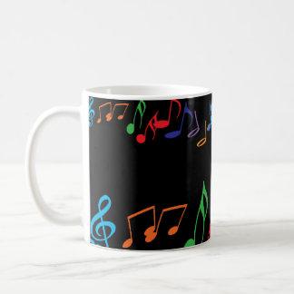 Musical Notes Mug