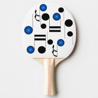 Musical Notes Musicians Music Table Tennis Gear Ping Pong Paddle
