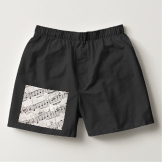 Musical notes on Men's Boxercraft Cotton Boxers