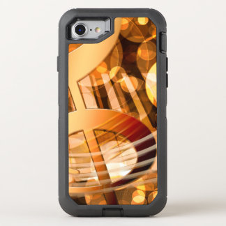 Musical Notes OtterBox Defender iPhone 8/7 Case