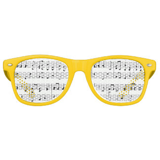 Musical Notes Party Shades
