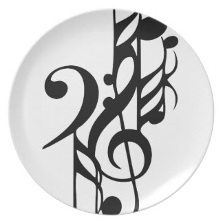 Musical_notes Plate