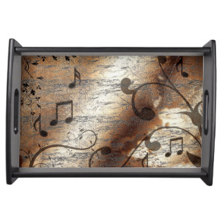 Musical Notes Serving Tray