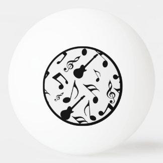 Musical Notes - Sheet Music Design Ping-Pong Ball