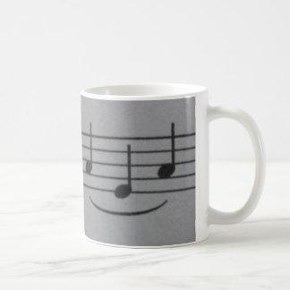 Musical Notes Smile Mug