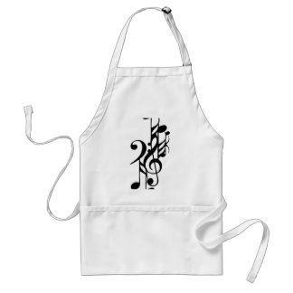 Musical_notes Standard Apron