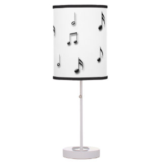 Musical Notes Table Lamp