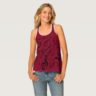 Musical Notes Tank Top