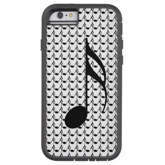 Musical notes tough xtreme iPhone 6 case