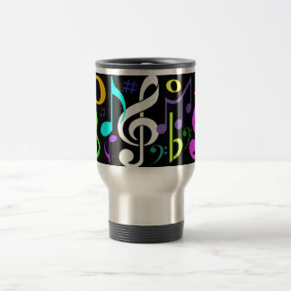 Musical Notes Travel Mug