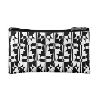 Musical Optical Illusions Cosmetic Bags