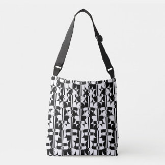 Musical Optical Illusions Crossbody Bag