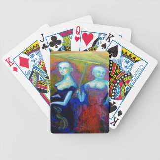 Musical Outing Painting Bicycle Playing Cards