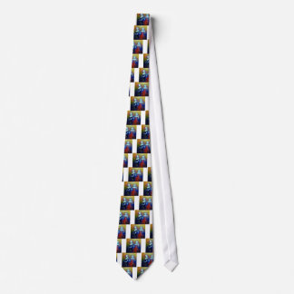 Musical Outing Painting Tie