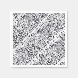 Musical Paper Napkin