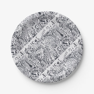 Musical Paper Plate