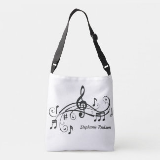 Musical Religious Tote Customize With Name