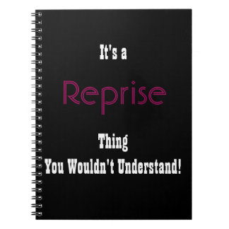 Musical Reprise Journal