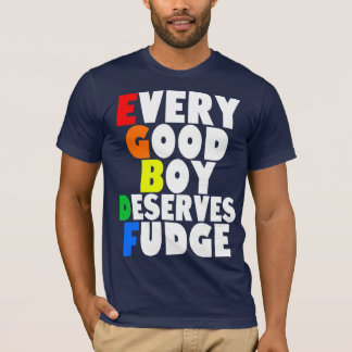 Musical Scale in Rainbow T-Shirt