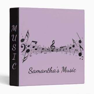 Musical Score Design Binder