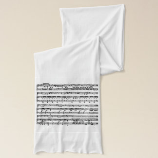 Musical Score on Scarf