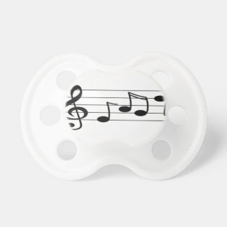 Musical Score Pacifier