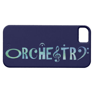 Musical Scrip Orchestra iPhone 5 Case