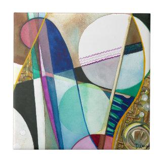 Musical Series - Jazz Quartet Tile