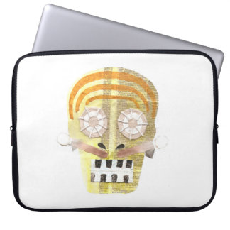 Musical Skull 15 Inch Laptop Sleeve