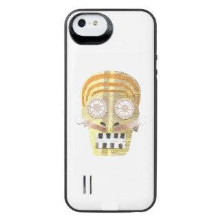 Musical Skull Battery Pack iPhone SE/5/5s Battery Case