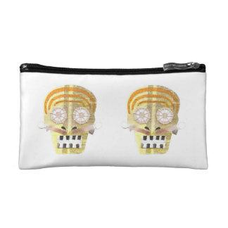Musical Skull Cosmetic Bag
