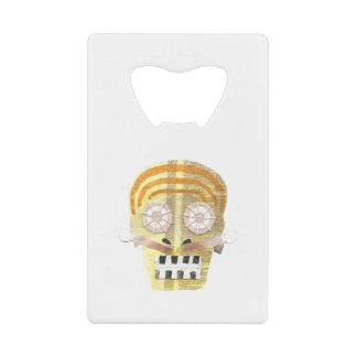 Musical Skull Credit Card Bottle Opener