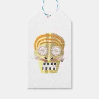 Musical Skull Gift Tags Pack Of Gift Tags
