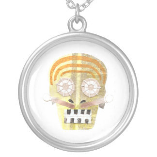 Musical Skull Necklace