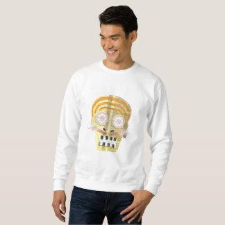 Musical Skull No Background Men's Jumper Sweatshirt