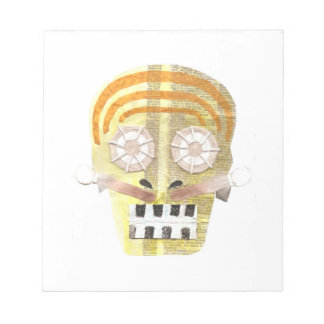 Musical Skull Notepad