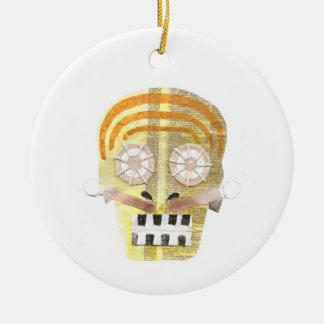 Musical Skull Ornament