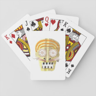 Musical Skull Playing Cards