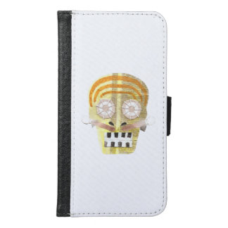 Musical Skull Samsung Galaxy S6 Wallet Case