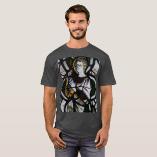 Musical Stained Glass Angel T-Shirt