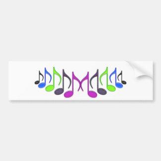 """Musical Symbol """"M"""" Bumper Sticker"""