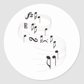 Musical Symbols Stickers