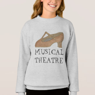 Musical Theatre Character Shoe Dance Sweatshirt