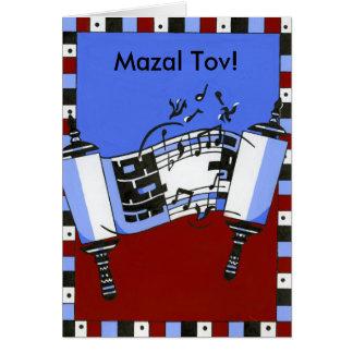 Musical Torah Card