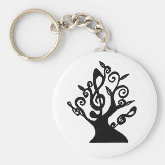 Musical Tree Key Chain