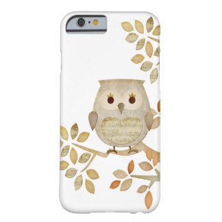 Musical Tree Owl Case Barely There iPhone 6 Case