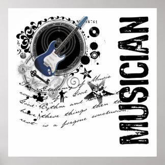 Musician Alchemy Poster