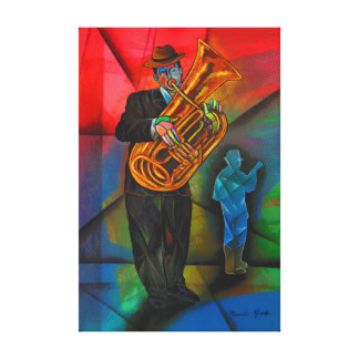 Musician AT to fair Canvas Print