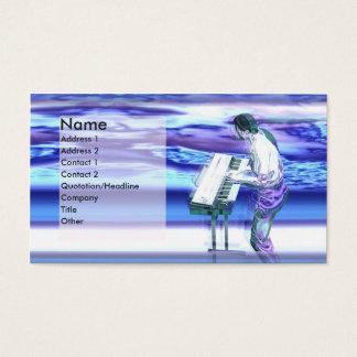 Musician Blues - Business Business Card